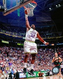 Karl Malone 1996 Action Photo