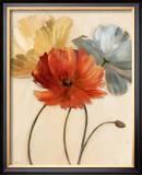 Poppy Palette I Poster by  Nan