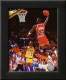 Michael Jordan Action Framed Photographic Print