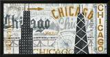 Hey Chicago Vintage Prints by Michael Mullan
