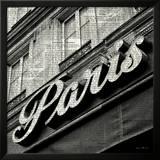 Newsprint Paris Prints by Marc Olivier