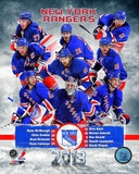 New York Rangers 2012-13 Team Composite Photographie