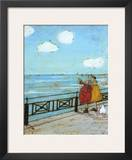 Her Favourite Cloud Print by Sam Toft