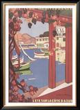 Cote d'Azur Posters