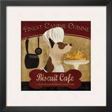 Biscuit Café Posters by Conrad Knutsen