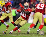 Frank Gore 2012 NFC Divisional Playoff Action Photo