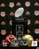 2013 BCS National Championship Matchup University of Alabama Crimson Tide Vs. Notre Dame Fighting I Photo