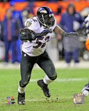 Ray Lewis 2012 AFC Divisional Playoff Game Action Photo