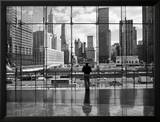 Looking at Ground Zero Prints by Henri Silberman
