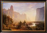 Yosemite Valley Art by Albert Bierstadt