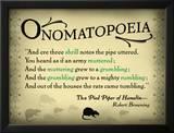 Onomatopoeia Print