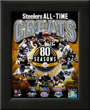 Pittsburgh Steelers All Time Greats Composite Framed Photographic Print