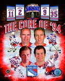 New York Rangers Core Of 1994 Composite Photo