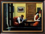Room in New York Posters by Edward Hopper