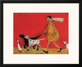 Walkies Poster by Sam Toft