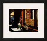 Chop Suey Print by Edward Hopper