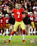 NFL Colin Kaepernick 2012 NFC Divisional Playoff Action Photo