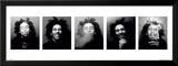 Faces of Bob Marley Prints