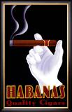 Habanas Quality Cigars Art by Steve Forney
