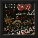 Life's a Gamble Prints by Eugene Tava