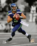 NFL Russell Wilson 2012 Spotlight Action Photo
