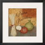 Pasta Pomodor Print by Jane Carroll
