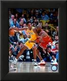 Michael Jordan & Kobe Bryant 1998 Action