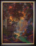Old Oak Glen Prints by Maxfield Parrish