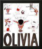 Olivia, Busy Little Piggy Art by Ian Falconer