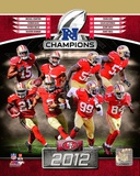 NFL San Francisco 49ers 2012 NFC Champions Composite Photo
