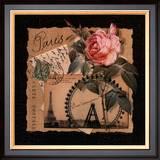 Eiffel Tower Print by Kelly Donovan