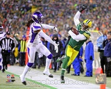 Greg Jennings 2012 Playoff Action Photo