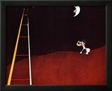 Dog Barking at the Moon Prints by Joan Miró