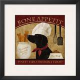 Bone Appetit Prints by Conrad Knutsen