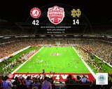University of Alabama Crimson Tide 2013 BCS National Champions at Sun Life Stadium Photographie
