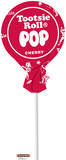Tootsie Pop Cherry Lifesize Standup Cardboard Cutouts