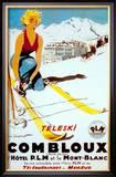 Teleski Combloux Prints by  Ordner