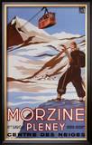 Morzine Posters by Bernard Villemot
