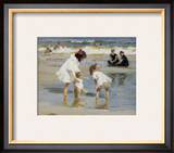 Children Playing at the Seashore Posters by Edward Henry Potthast