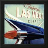 Las Vegas Print by David Fischer