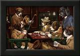 His Station And Four Aces Prints by Cassius Marcellus Coolidge