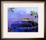 Baie des Anges, Nice Prints by Raoul Dufy