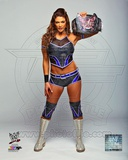 Eve with the Divas Championship Belt 2012 Posed Photo