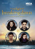 Twilight Breaking Dawn Part 2 - Edward, Bella, Jacob and Renesme Badge Pack - Badge