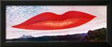 Lips (Heure de l'Observatoire) Prints by  Man Ray