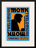 Thelonius Monk at Town Hall, New York City, 1959 Poster by Dennis Loren
