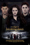 Twilight Breaking Dawn Part 2 - Edward, Bella and Jacob Movie Poster Julisteet