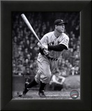 Lou Gehrig 1938 Action Framed Photographic Print