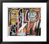 Dustheads, 1982 Framed Giclee Print by Jean-Michel Basquiat