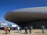 The Entrance to The Aquatics Centre in Olympic Park During Gold Challenge Event, London, England Photographic Print by Mark Chivers